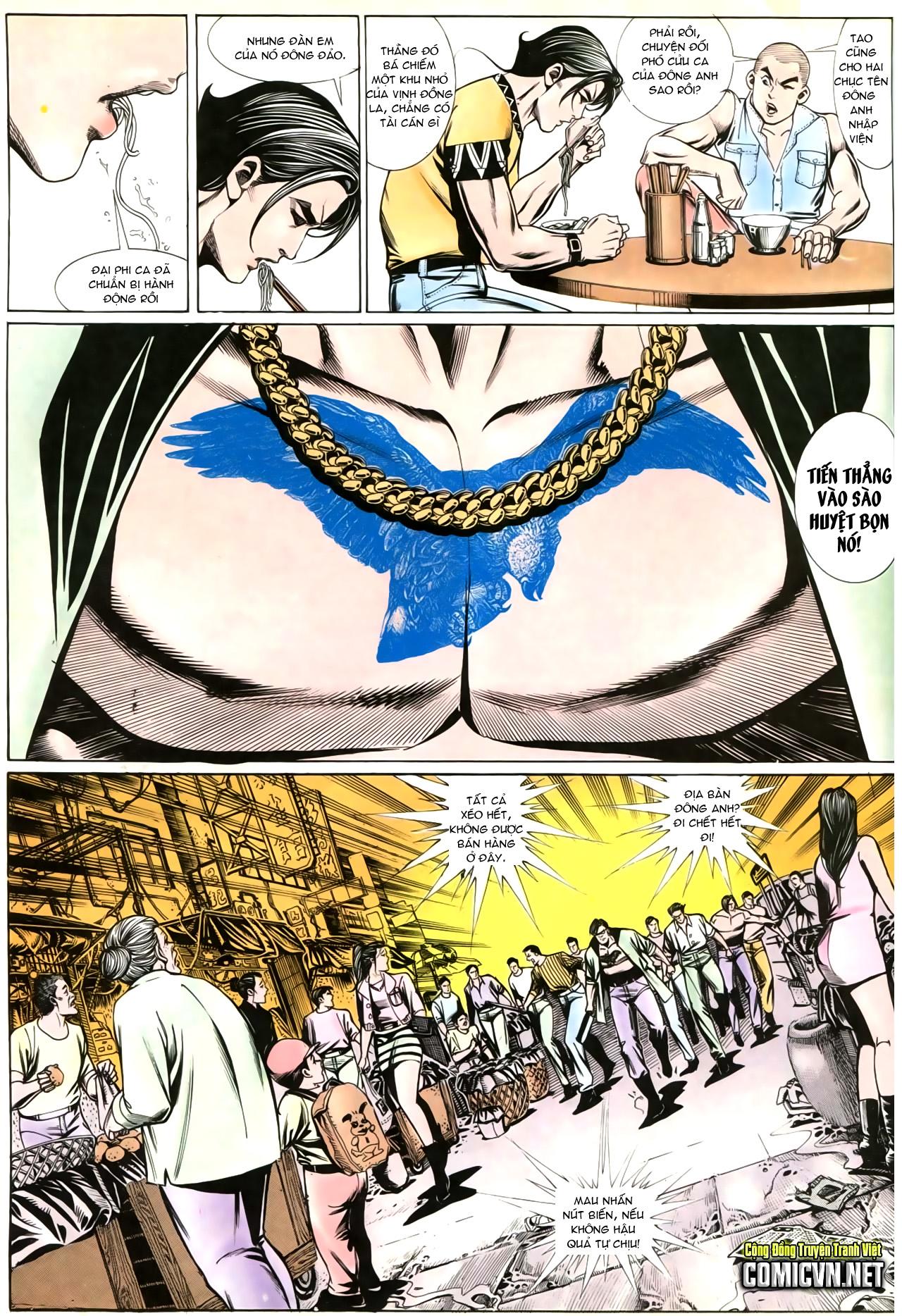 Người Trong Giang Hồ chapter 202: đối đầu trang 26