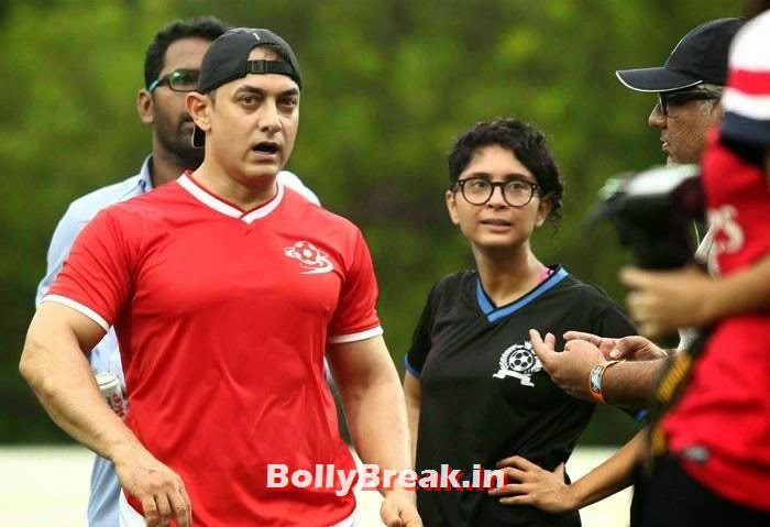 Aamir Khan, Kiran Rao, Bollywood Celebs play football match for Aamir khan's daughter Ira Khan