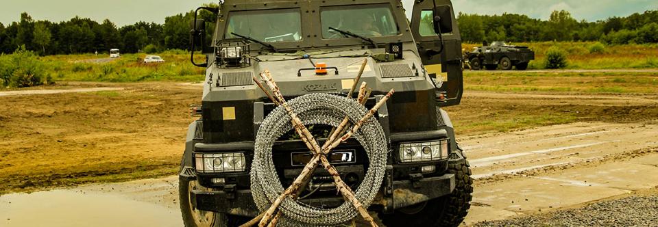 81-а аеромобільна бригада отримала партію бронемашин Козак-2