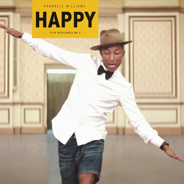 "Pharrell Williams - Happy (Gru's Theme from ""Despicable Me 2"") - Single Cover"