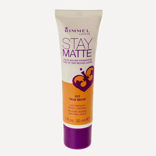 Rimmel's Stay Matte Liquid Mousse Foundation Review