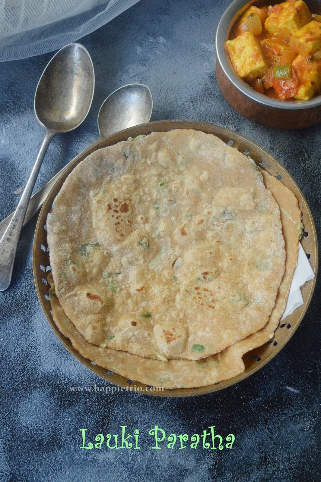 Lauki Paratha Recipe | Bottle Gourd Paratha