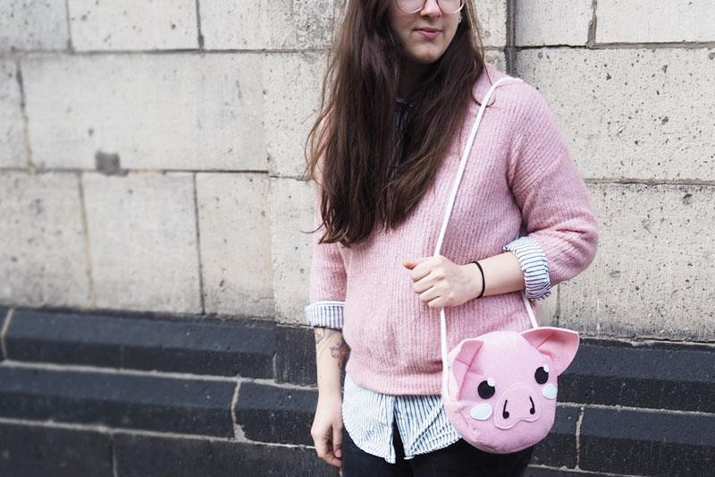 KuneCoco • Schweinetasche aus Filz