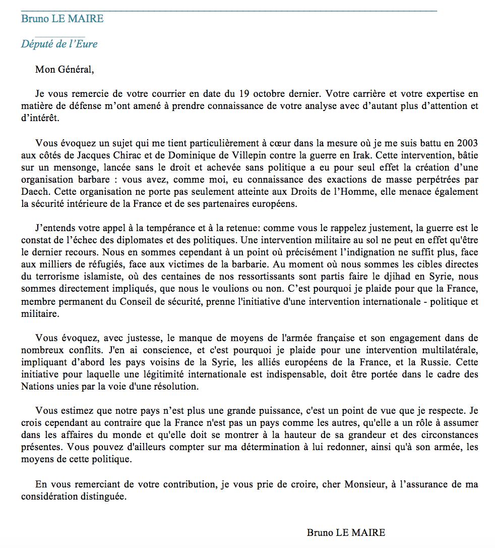 La voie de l'épée: Lettre ouverte du général (2S) Jean Paul Salini