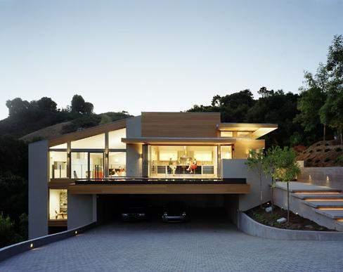 Hogares frescos 7 casas con un estilo minimalista limpio for Casa minimalistas