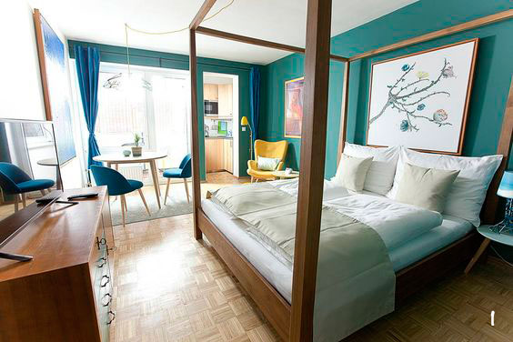 Alojamientos turísticos con estilo.Una pequeña vuelta por el mundo deco con Airbnb