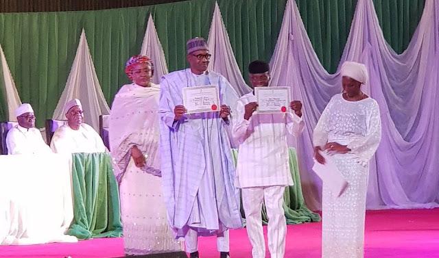 Buhari gets certificate of return, says election not war