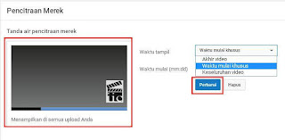 Cara Membuat Branding Watermark Pada Youtube