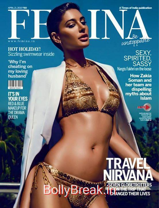 , Nargis Fakhri HOt HD Pics From Femina Magazine Photoshoot