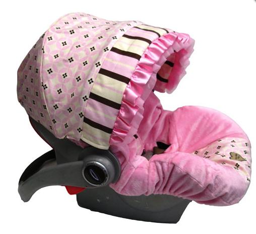Lucky Spider Monkey Baby Bella Maya Infant Car Seat