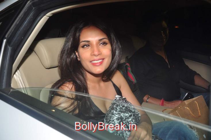 Richa Chadda, Ileana D Cruz Dia Mirza Hot Pics From Piku Screening
