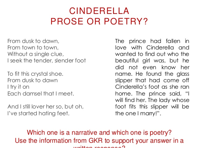which is better poetry and prose Prose poems written by famous poets browse through to read poems for prose thus first human was made, then from a bone of him his mate came for biological demands, growing humans they were sent to earth from heaven which is anti-defecating, reproducing, regenerating spot.