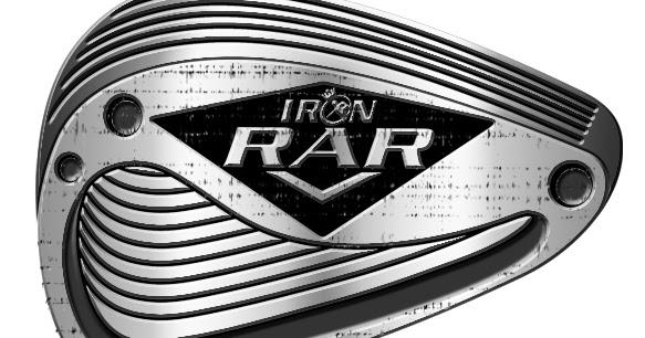 [ IRON RAR ] kepala sabuk / Buckle head / Sabuk/ Belt
