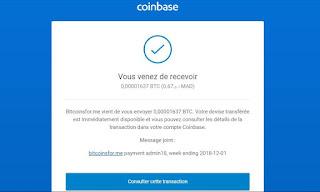 bitcoinsfor.me ربح البتكوبن مجانا  و بكل سهولة 2019