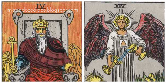 significado das cartas de numero 4 no tarot
