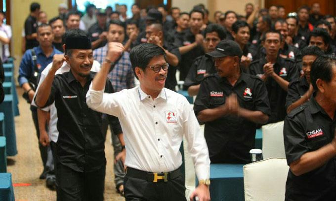 Giliran, Relawan HatiKu For Punggawa di Bulukumba Siap Antar IYL-Cakka di KPU