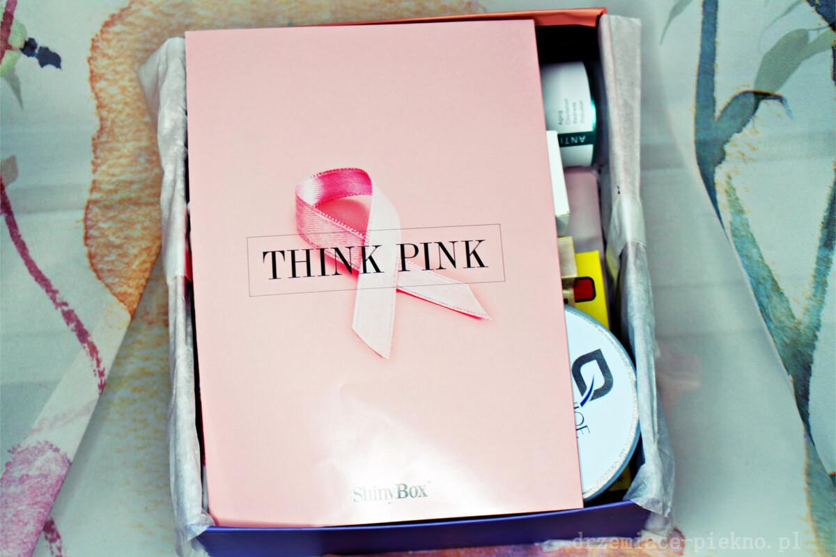 Shinybox Październik 2018 Think Pink - Zawartość
