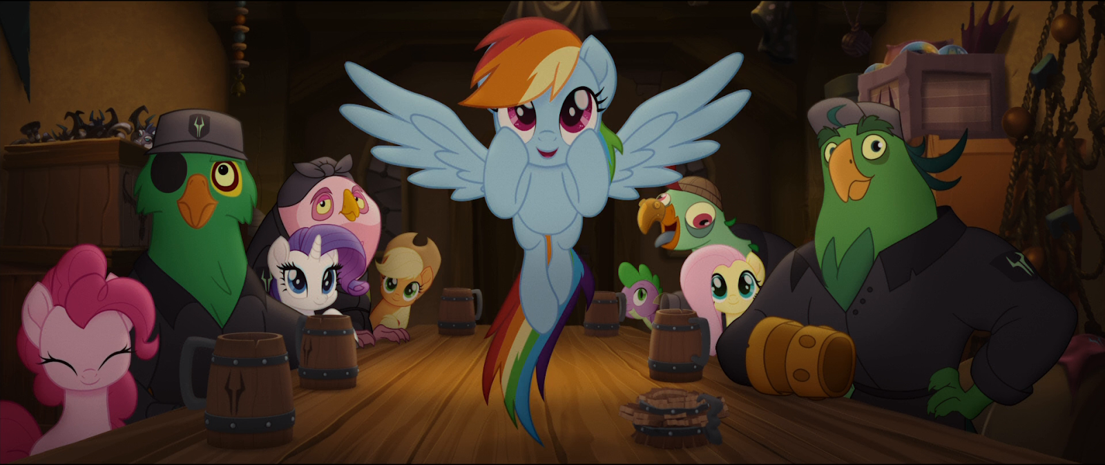 My Little Pony: La Película (2017) BRRip 1080p Latino - Ingles captura 3