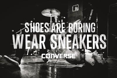 A CONVERSE vai promover uma noite para celebrar o universo sneakers. A  festa Converse Shoes are Boring, Wear Snearkers, que acontece em 28 de  novembro, ... f0a66474e4