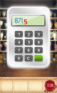 Полученное количество будет являться кодом для введения на клавиатуре