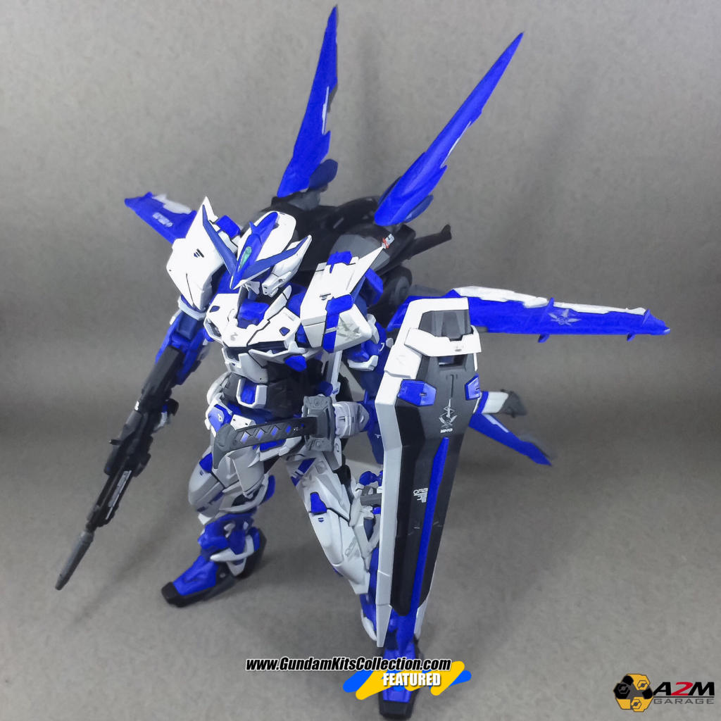 Custom Build: MG 1/100 Gundam Astray Blue Frame + Flight Unit