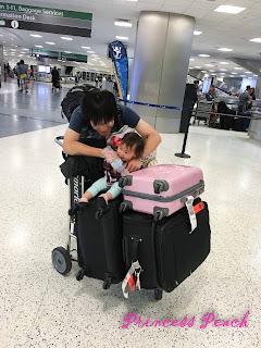 從日本回美國啦~!!