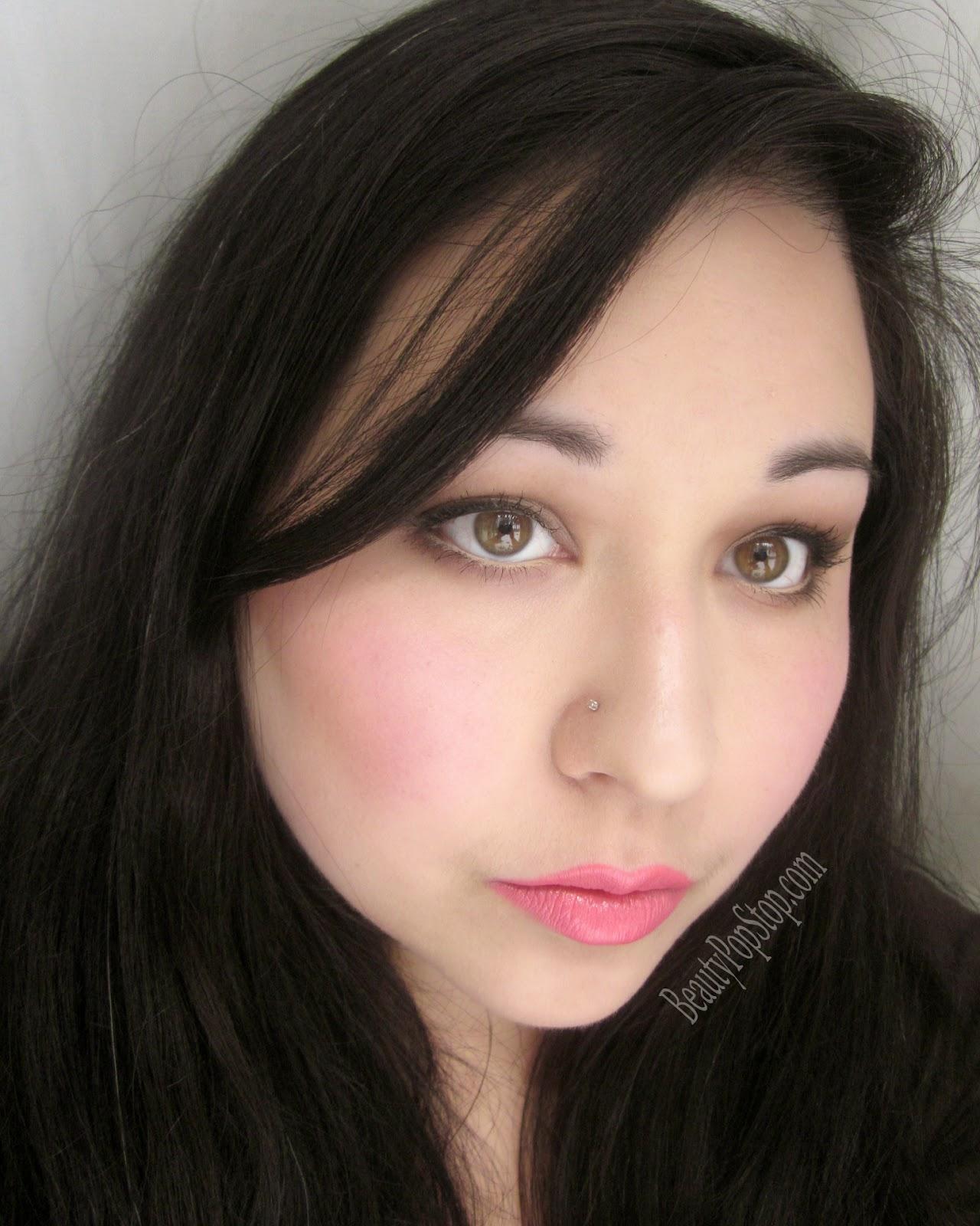 ellis faas makeup look