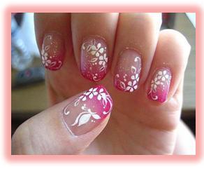 diseños de uñas con decoración juvenil, diseños de uñas juveniles, diseños  de uñas para