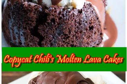 Copycat Chili's Molten Lava Cakes
