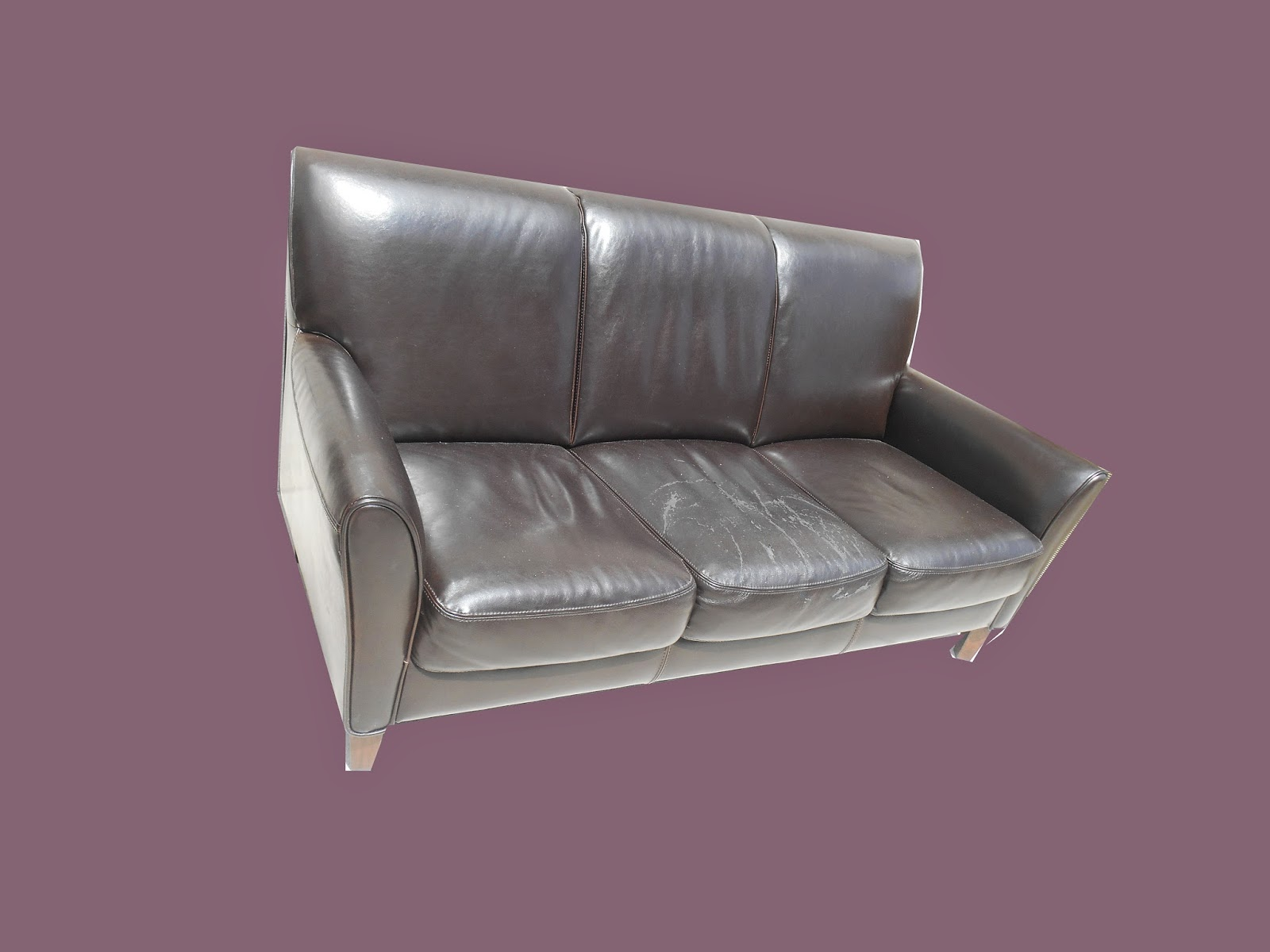 Where To Donate Sectional Sofa Simple Set Designs In India 2 Pieces - $325