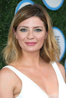 Mischa Barton in a Short Black and White Dress at Safe Kids Day in Los Angeles