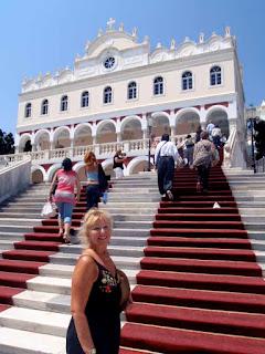 Pat Dunlap Panagia Evangelistria Cathedral Tinos Greece