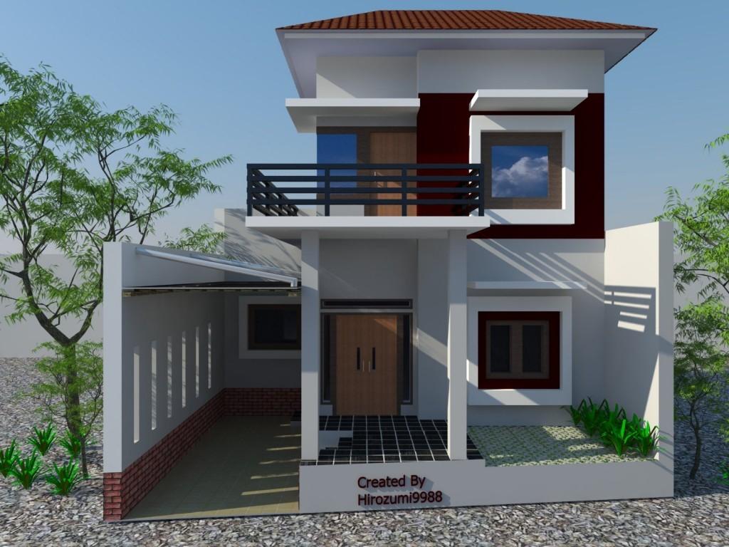 gambar desain fasat rumah idaman 3