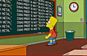 Los Simpson Se Disculpan Con Judas Priest