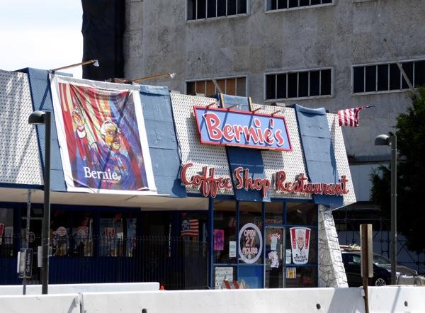 Faux Bernie's Coffee Shop Wilshire Boulevard