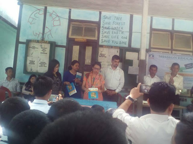 Mission Education Team of Sikkim placed a Dropbox at Government Secondary School,Mangzing South Sikkim.