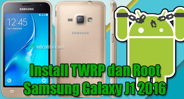 Cara Install TWRP + Root Samsung J1 2016 (SM-J120G/DS) Dengan atau Tanpa Komputer (Laptop/PC)