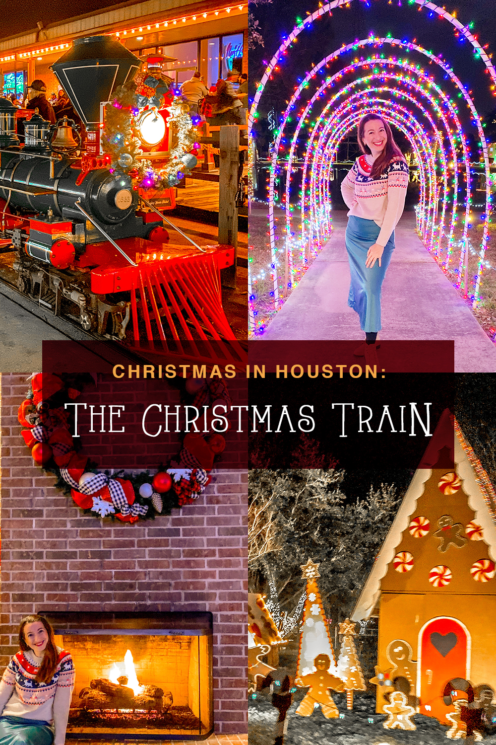 The Christmas Train in Alvin, Houston, TX