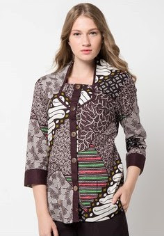 Baju Batik untuk Kerja Kantor Modern