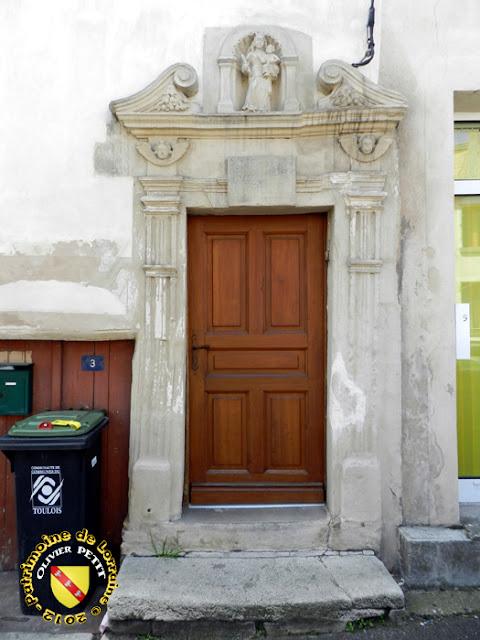 FOUG (54) - Hôtellerie de la Couronne (1619)