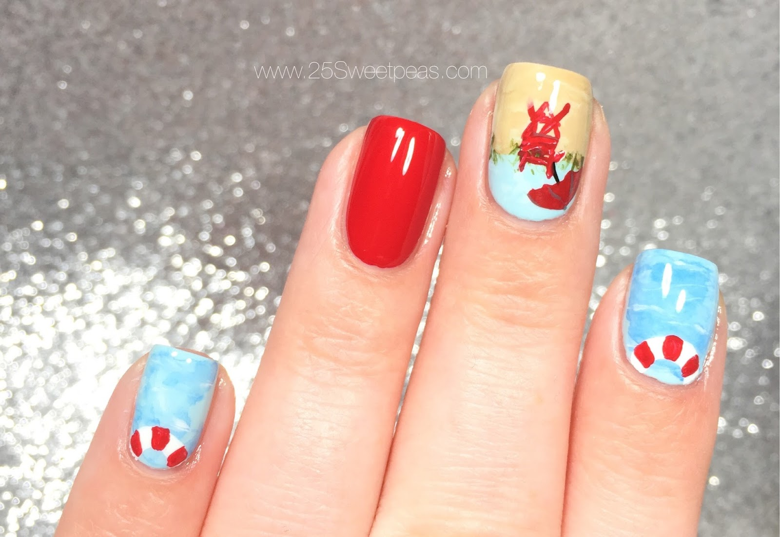 Lifeguard Nails