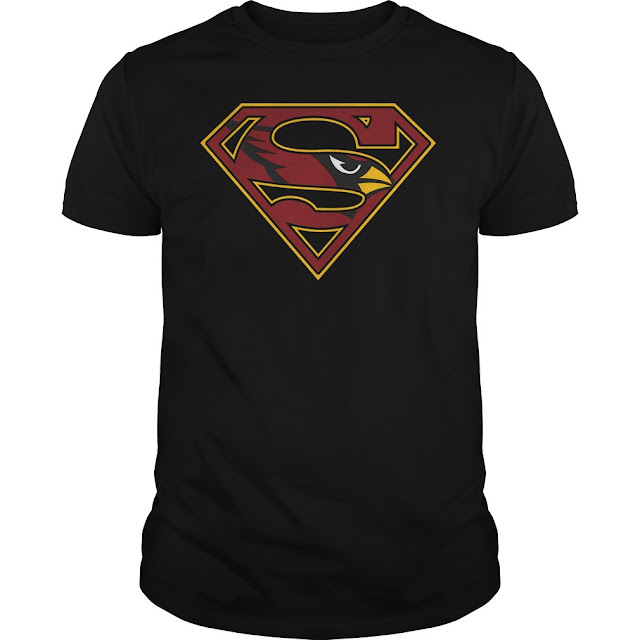 Arizona Cardinals Superman Logo Shirt