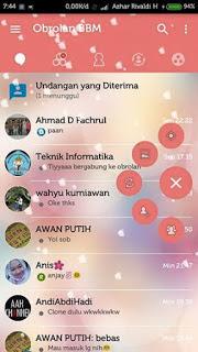 BBM MOD LOVE STORY V3.0.1.25 UN CLONE TERBARU UPDATE 2016
