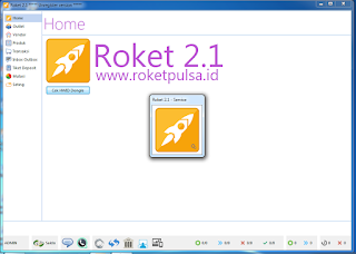Update Terbaru Roket Pulsa Versi 2.1