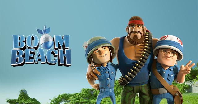 لعبة boom beach  اخر اصدار