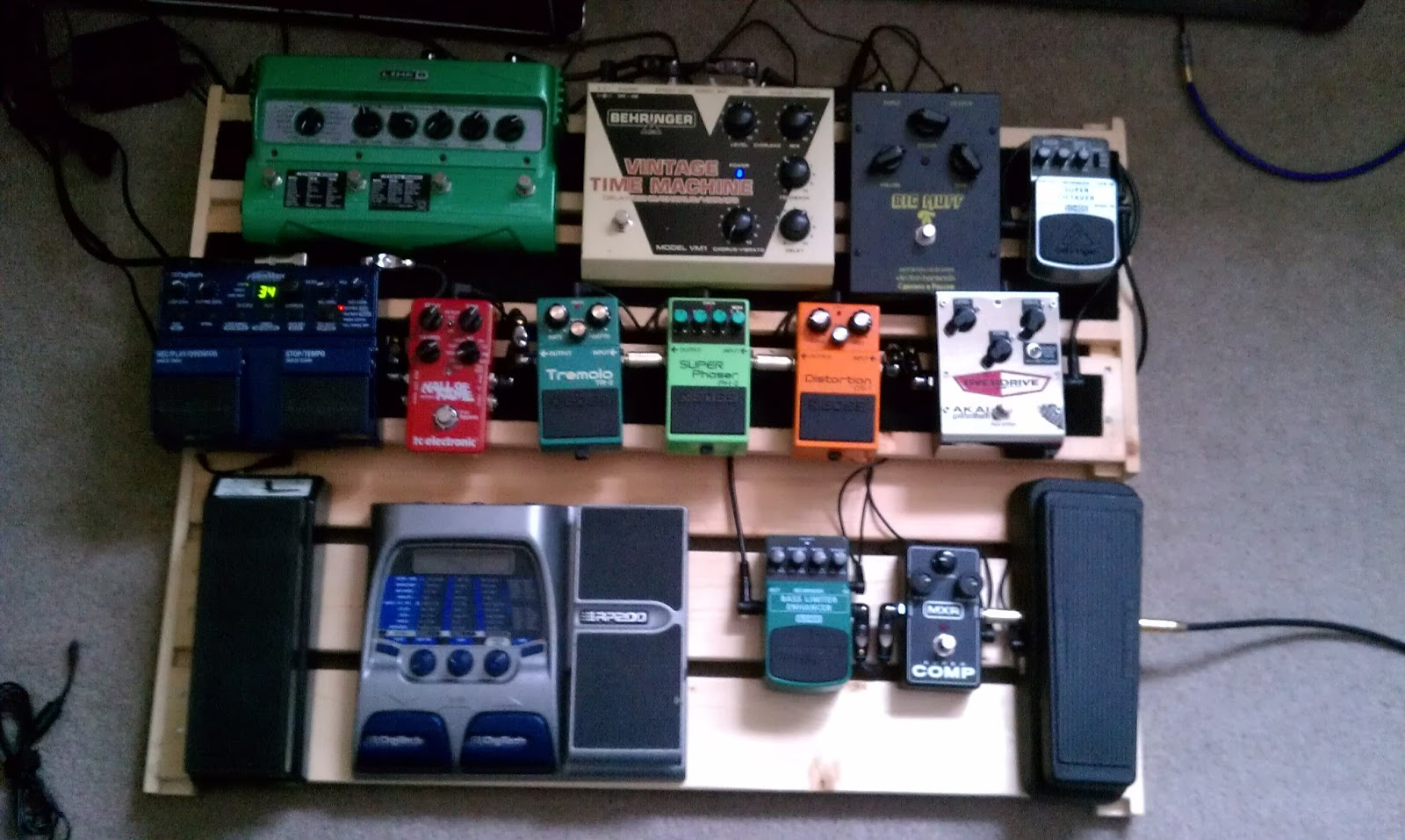 all about the funk latest in guitar pedal collecting. Black Bedroom Furniture Sets. Home Design Ideas