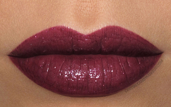 Buxom Shimmer Shock Lipstick Thunderbolt Swatch