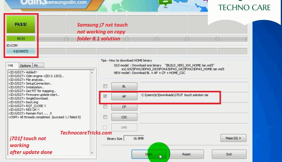 SKY DOTCOM FLASH ZONE: J701F U6 Touch Fix File BY SKY DOTCOM 100% Tested