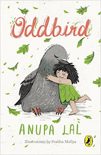 Books: Oddbird by Anupa Lal and illustrated by Prabha Mallya (Age: 8+ Years)