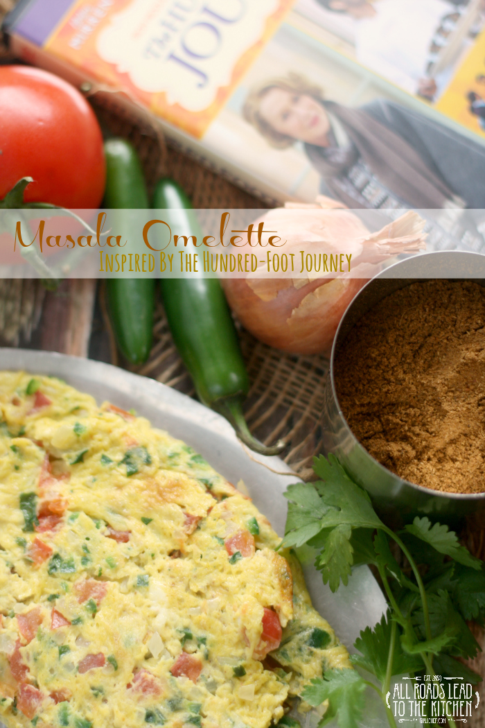 Masala Omelette inspired by The Hundred-Foot Journey #FoodnFlix